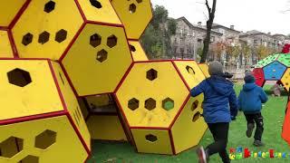 Детская площадка в         г.Каменское 2020 г.