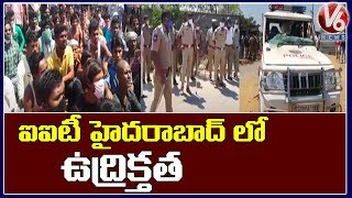 Migrant workers attack employers, cops at IIT-Hyderabad..