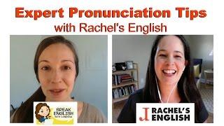 English Pronunciation Tips with Rachel's English