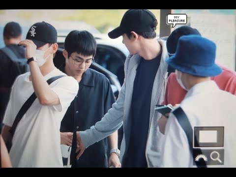 180727 EXO Heading to Osaka for SMTOWN LIVE Concert 2018