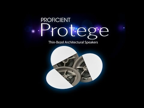 Protege Thin-Bezel Architectural Speakers and Subwoofers