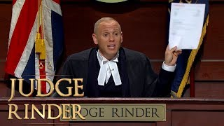 Judge Rinder Is Legally Forced to Dismiss a Case | Judge Rinder