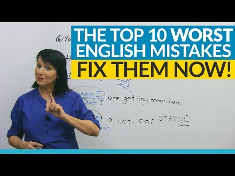 The 10 WORST English mistakes you're making!