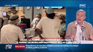"""Covid-19: """"Nous ne sommes pas prêts, le système craque!"""", dénonce un urgentiste sur RMC"""