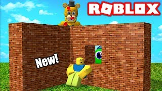 BUILD TO SURVIVE SCARY MONSTERS IN ROBLOX!