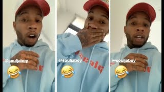 Tory Lanez Clowns Soulja Boy For Wearing Same Gucci Head Band For A Week
