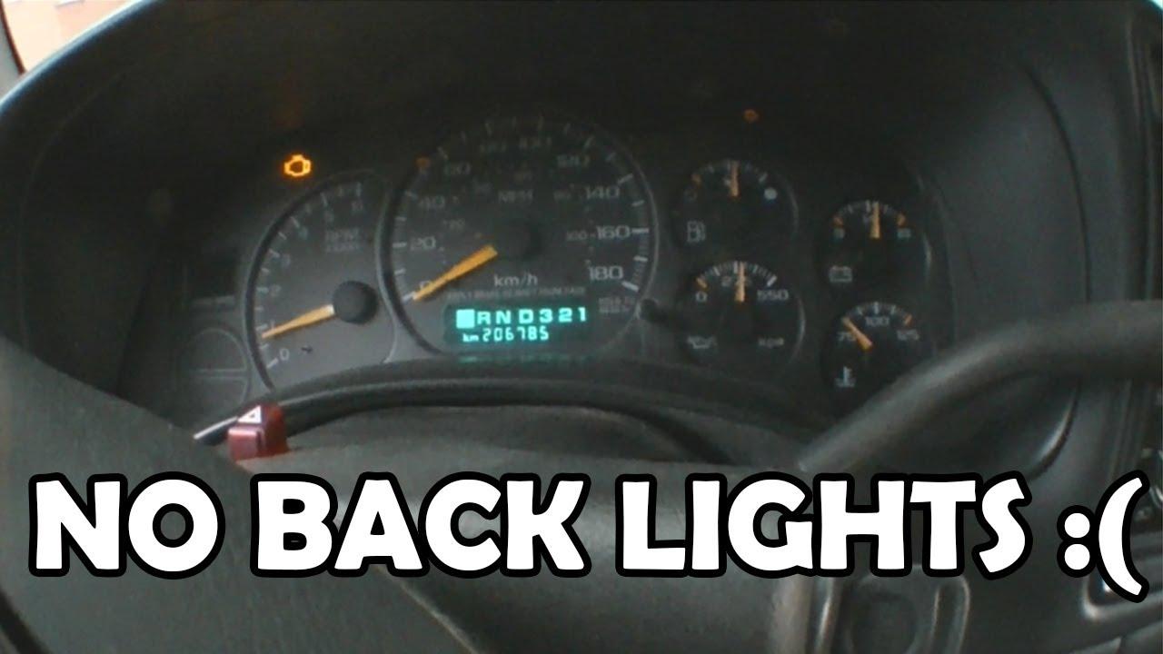 2001 GMC Sierra Instrument Cluster Wont Light Up - YouTube