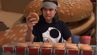 5 Big Macs Eaten in 60 Seconds | Matt Stonie