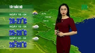 VTC14 | Thời tiết 12h 17/04/2018| Mưa dông giảm tại các tỉnh vùng núi phía Bắc