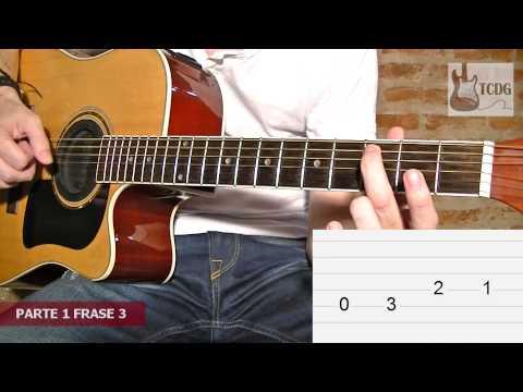 Como Tocar La Pantera Rosa en Guitarra Acústica: Versión Súper Fácil! / Tutorial TCDG