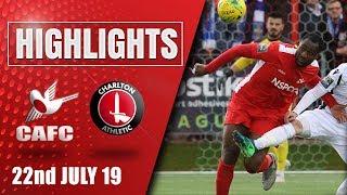 Match Highlights: Carshalton vs Charlton -  22/07/19