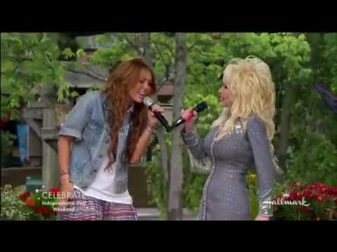 Miley Cyrus and Dolly Parton Singing 'Jolene'