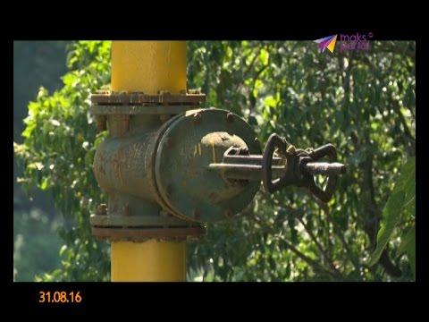 В дома села Молдовка начали подключать природный газ