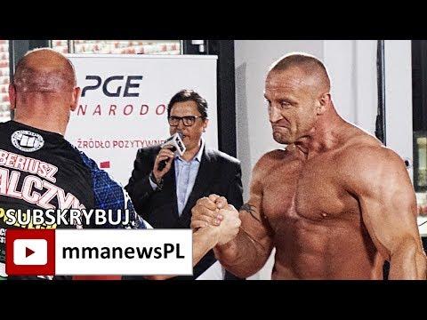 KSW 39: Mariusz Pudzianowski nie potrzebuje trzech rund na Tyberiusza Kowalczyka (+video)