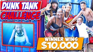 EPIC DUNK TANK CHALLENGE SQUAD VS SQUAD!!! WINNER WINS $10,000