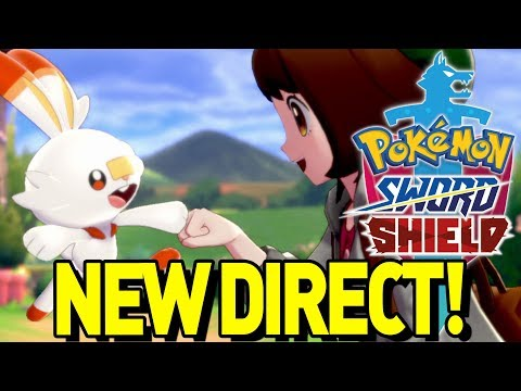 NEW POKEMON ANNOUNCEMENT! Pokemon Sword and Shield Nintendo Direct and Rumor Discussion!
