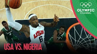 USA v Nigeria - USA Break Olympic Points Record - Men's Basketball Group A | London 2012 Olympics