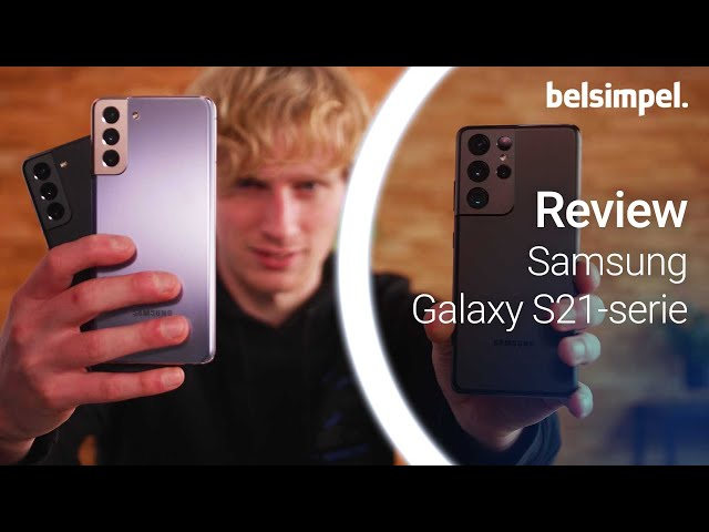 Belsimpel-productvideo voor de Samsung Galaxy S21 5G 128GB G991 Wit