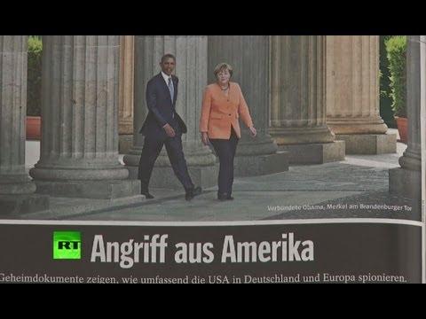 Разоблачения Сноудена могут помешать Ангеле Меркель победить на выборах