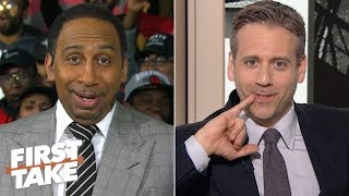 NBA Finals predictions: Stephen A. says Warriors in 6, Max picks Raptors in 6  | First Take