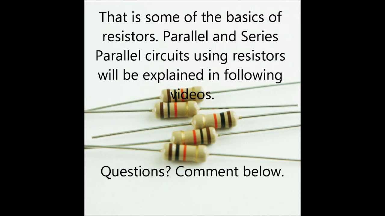 The Building Blocks Of Electronic Circuits There Are Different Types