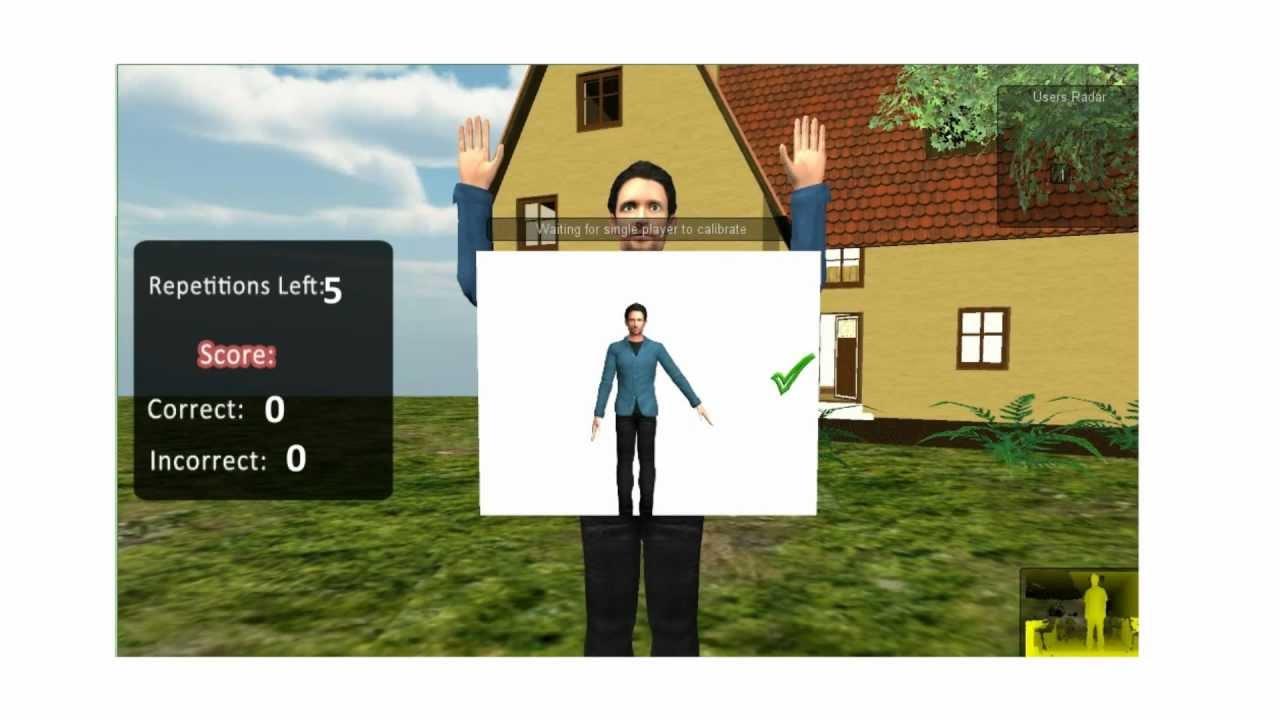 KinectoTherapy - Making Rehabilitation Fun, Motivating and Rewarding