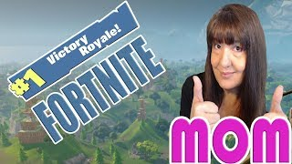 MOM PLAYS FORTNITE 💗 CLICKITY-CLICK! BLAMMM! BOOM-BOOM! 💗 FAMILY FRIENDLY STREAM  👨‍👩‍👦‍👦