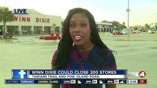 Winn-Dixie is considering bankruptcy and could close 200 stores