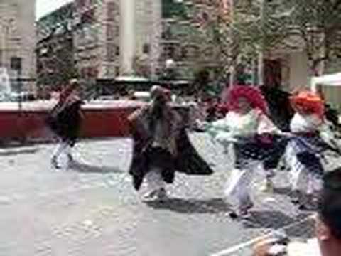 Baile alegre de Ecuador