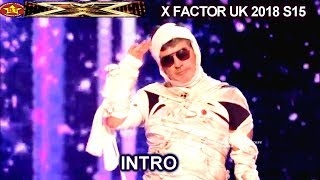 INTRO Fright Night with Simon Cowell  in Halloween Costumes Live Show 3 Show X Factor UK 2018
