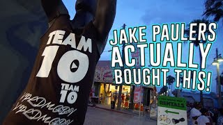 THEY SELL FAKE JAKE PAUL (TEAM 10) MERCH AT THIS STORE!