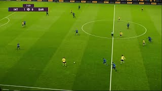 Inter Milan vs FC Barcelona | Champions League UEFA | 10 Décembre 2019 | PES 2020
