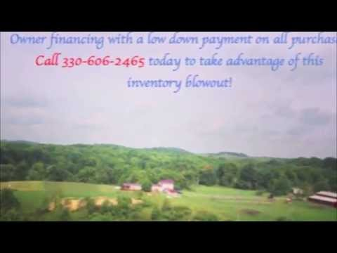 Heath Detweiler with owner financed acreage in Ohio for sale