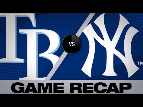 Tanaka's shutout leads Yankees   Rays-Yankees Game Highlights 6/17/19