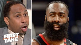 Stephen A. is tired of the Rockets waiting for James Harden to be their savior | First Take