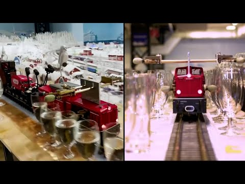 Musical model train sets a Guinness World Record