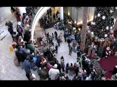 Flash Mob Christmas Carol at Mall - MUST SEE!