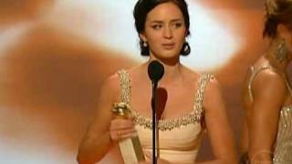 Emily Blunt   2007 Golden Globes Acceptance speech