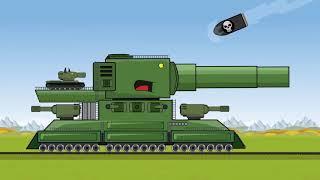 Quái vật đường sắt - Hoạt hình Xe Tăng chiến đấu hài hước tập 20