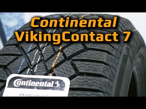 video Continental ContiVikingContact 7 SUV зимняя