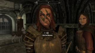 Skyrim Remastered  - Aela and Serana trolling me