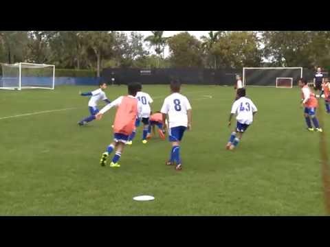 NSCAA/Kwik Goal Training Activity: Penetration 6v3 to 6v6