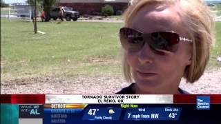 Woman Levitated Into A Tornado - El Reno, OK