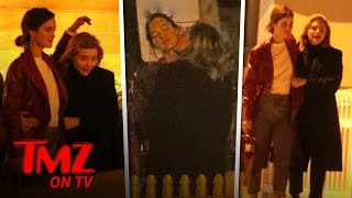 Chloe Grace Moretz Has Dinner and Makeout Session with Model Kate Harrison   TMZ TV