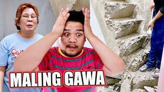 TODO NA ANG STRESS KO SA BAGONG BAHAY (PALPAK ANG MGA GINAWA NILA BES!!) | LC VLOGS #366