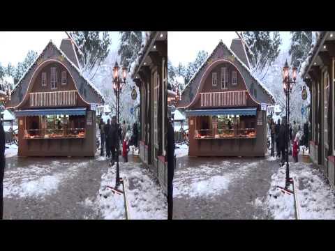 Marché de Noel Montreux 2011   en 3D
