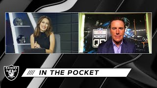 Rich Gannon Impressed With Derek Carr & Josh Jacobs in Week 1 | In the Pocket | Las Vegas Raiders