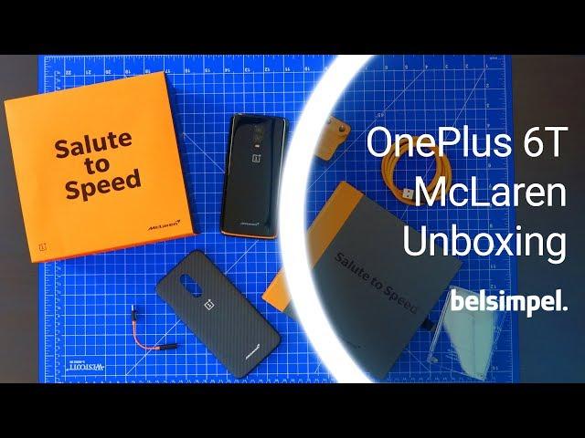 Belsimpel-productvideo voor de OnePlus 6T 10GB/256GB McLaren Edition
