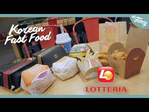 Korean Fast Food : Lotteria