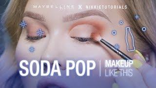NEW!! Soda Pop Palette Makeup Tutorial ft. Nikkie Tutorials | Maybelline New York